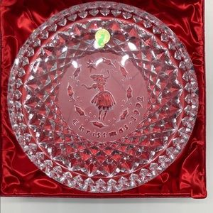 Waterford 12 days of Xmas plate 1992